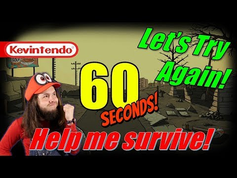 60 SECONDS... HELP ME SURVIVE! 🔴| Second Attempt - if Sharikov runs away I'll cry