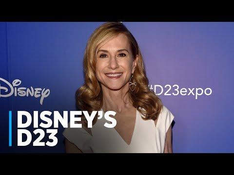 INCREDIBLES 2: Holly Hunter at Disney