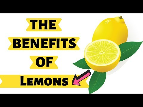 Nutrition Facts and Health Benefits of Lemons