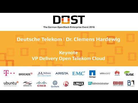 DOST 2016: Hardewig - Telekom | OpenStack Public Cloud - The Disrubtion Reaches Europe