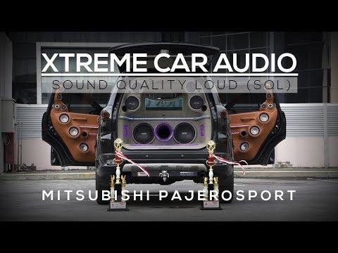 Modifikasi Audio SQL Mitsubishi Pajero - Audiblephysics feat NS Audio (Din Audio MGK)