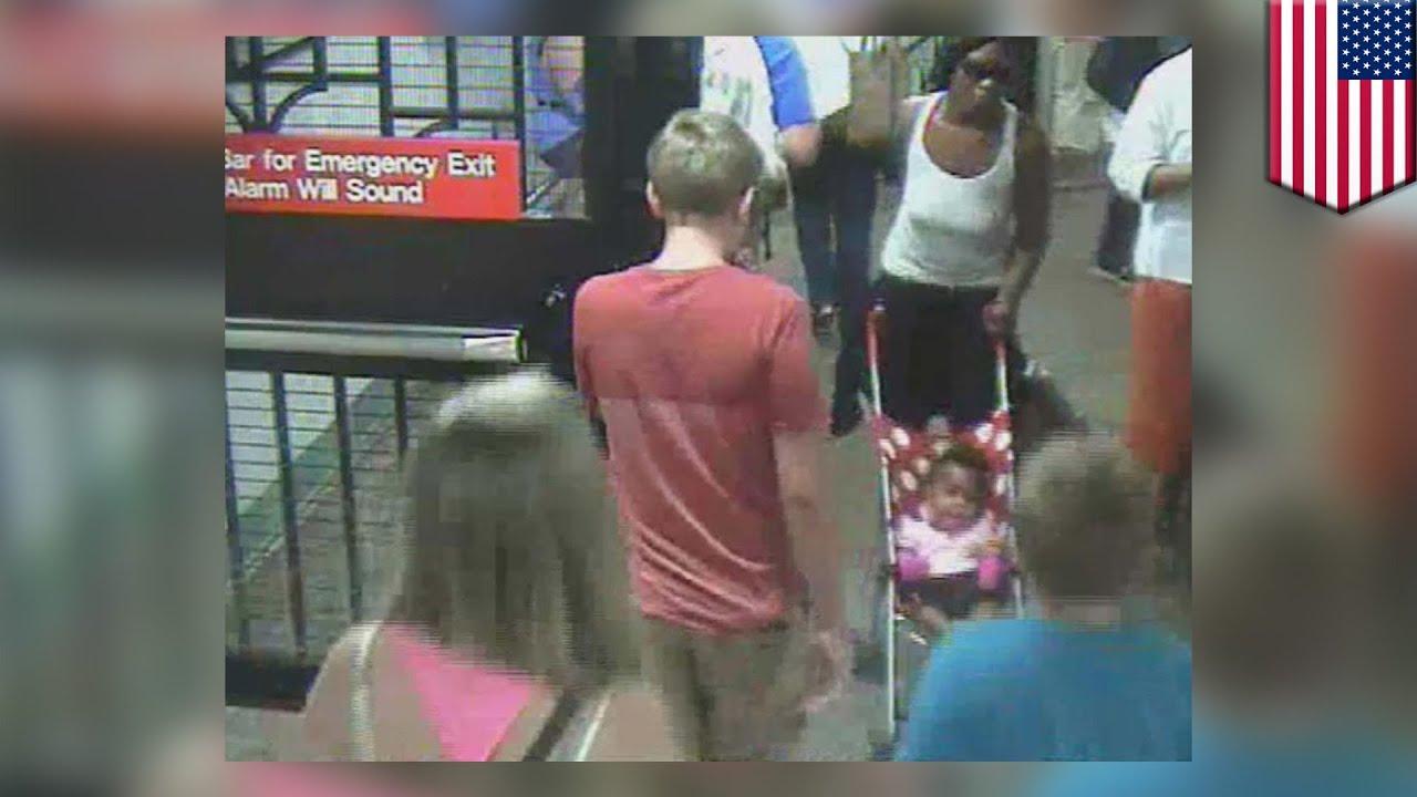 m u0142oda matka porzuca dziecko na stacji metra