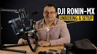 DJI RONIN-MX Unboxing