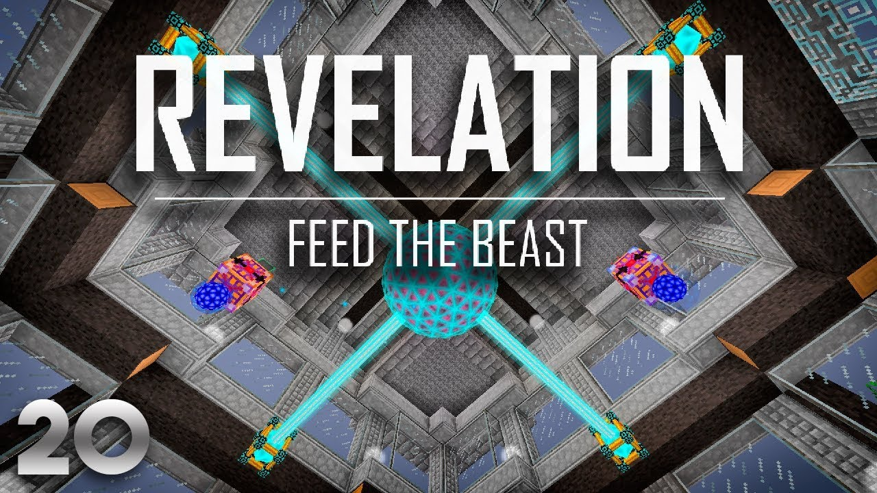 FTB Revelation EP20 Energy Core + Ore Processing