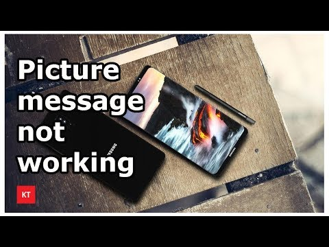 Can Not Send Or Receive Picture Messages (MMS) In Samsung Galaxy Device