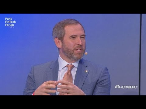 Ripple CEO: Decentralized payment systems are likely to win | Squawk Box Europe