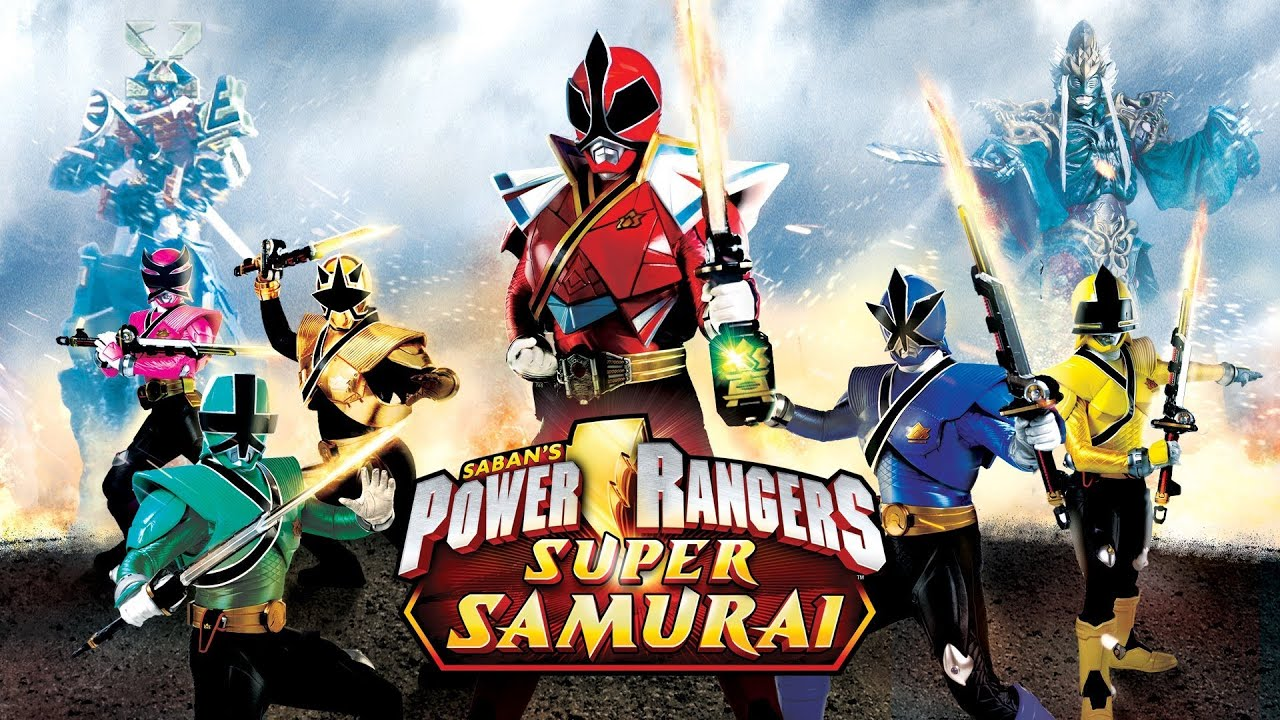 power rangers samuria