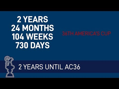 Guv's call   Two Years until the 36th America's Cup