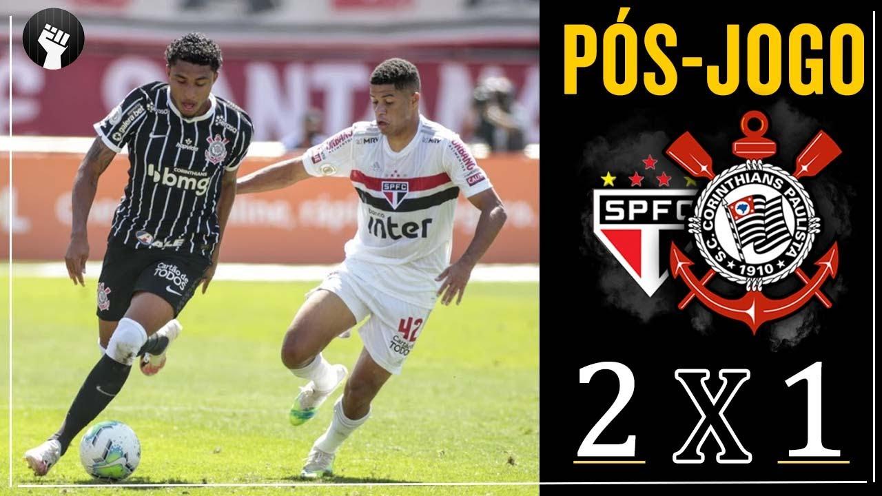Pos Jogo Sao Paulo 2 X 1 Corinthians Campeonato Brasileiro 2020 Youtube