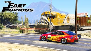 GTA 5 - The Fast and the Furious 2001 - Brian Races Dominic Scene