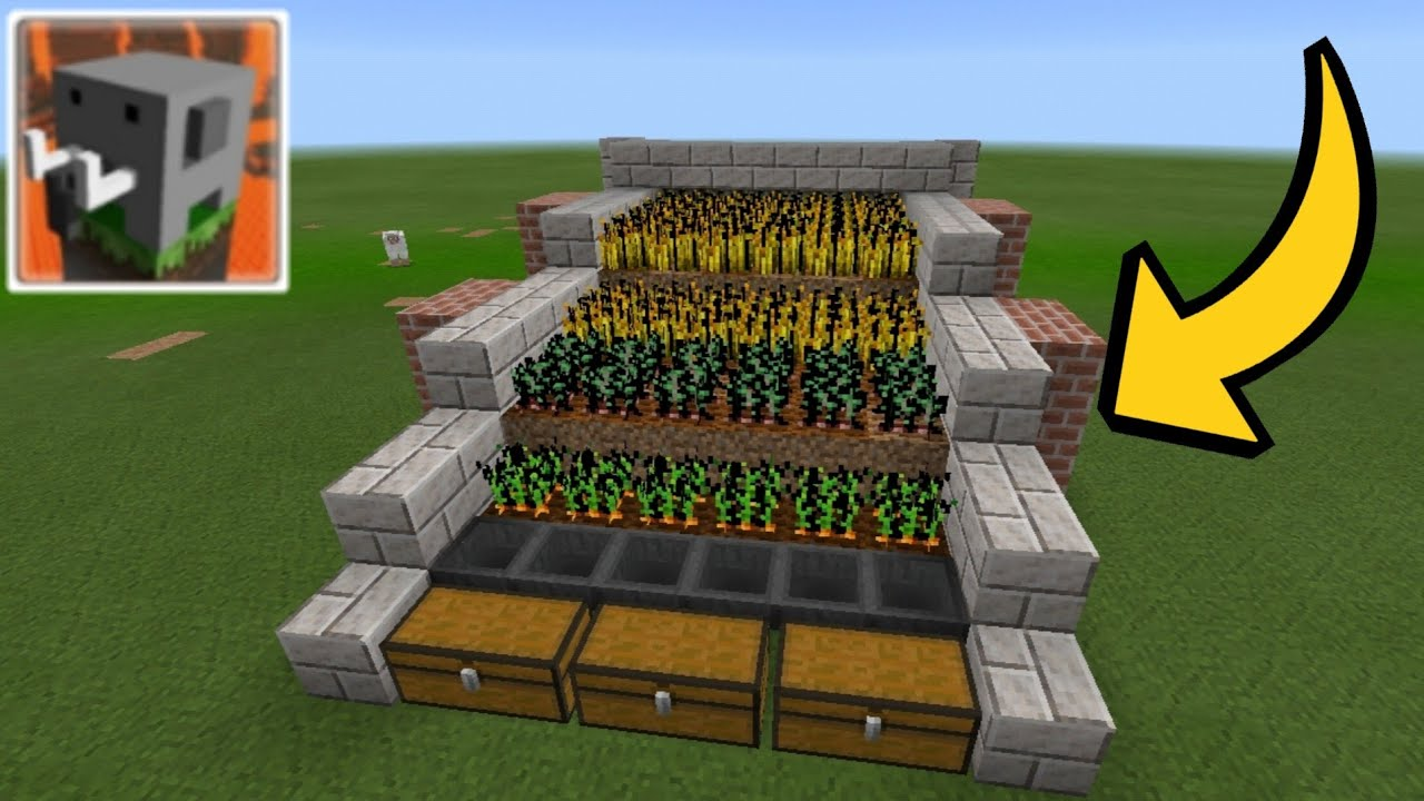 How to Make Automatic Farm in Craftsman: Building Craft