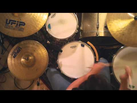 Loris Giroletti - Freetown Solo (M+A) Drum cover @Purania Studio