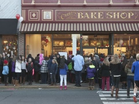 My visit to Carlo's Bakery in  hoboken New Jersey
