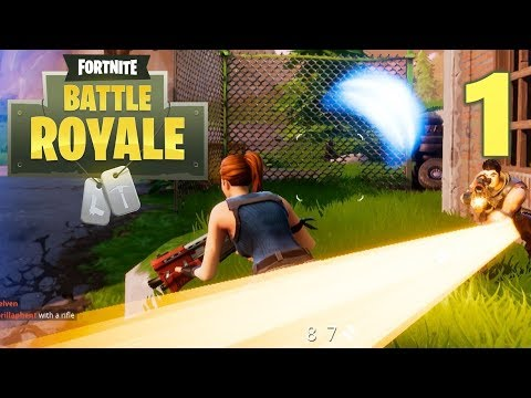 [1] Battle Royale: PUBG In FortNite?!? (Let's Play FortNite Battle Royale)
