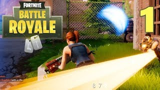 [1] Battle Royale: PUBG In FortNite?!? (Let's Play FortNite Battle Royale)