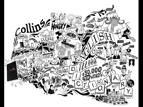 The new Collins English Dictionary is out now - see it brought to life #homeoflivingenglish
