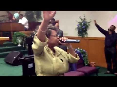Barbara Jackson Sago Exhorting into a Praise Break