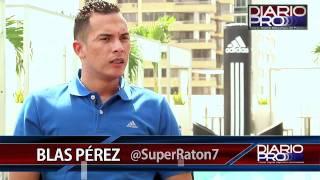 Blas Pérez en Exclusiva para Diario Pro #2 - Su carrera profesional