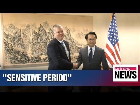 Seoul, Washington agree it's sensitive time in N. Korea-U.S. nuclear negotiations