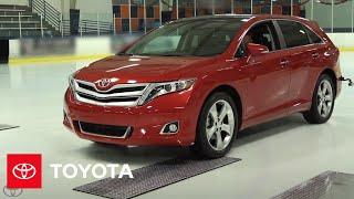 Venza on Ice | Toyota
