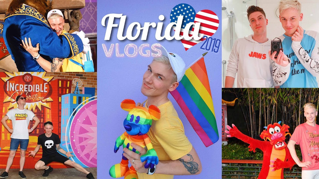 FLORIDA VLOGS 2019 #1 | DAYS 1-3 | Travel, Hotel, Moonlight Magic, Disney Parks, Shopping & Dini