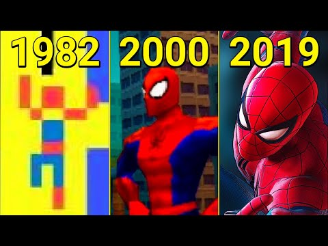 Evolution Of Spider-Man In Games 1982-2019