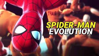 Evolution of Spider-Man in Games 1982-2019
