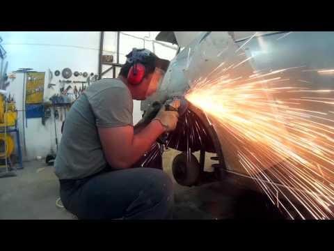 Шевроле Ланос ремонт кузова замена арки крыла в Нижнем Новгороде