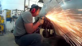 Шевроле Ланос ремонт кузова замена арки крыла в Нижнем Новгороде(, 2016-07-01T22:29:59.000Z)