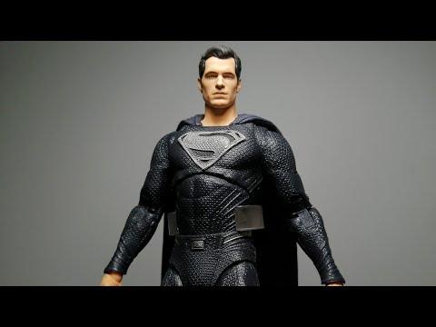 Quick Unboxing: McFarlane Justice League Snydercut Black suit Superman