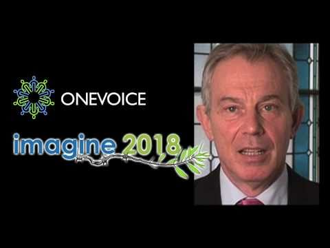 Message from Quartet Representative to the Middle East Tony Blair