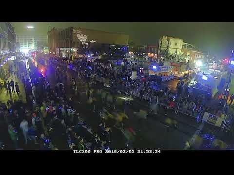 Mardi Gras! 2018 Timelapse
