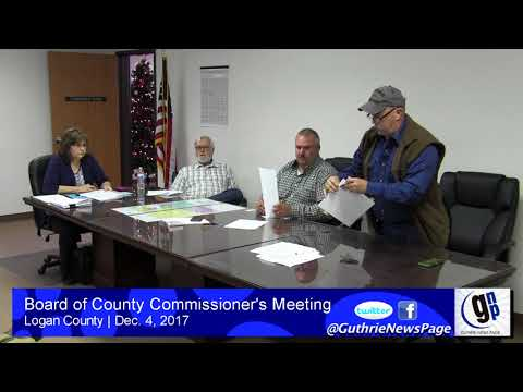 Board of County Commissioner's Meeting (Dec. 4, 2017)