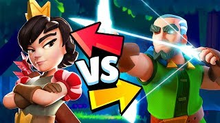 MAGIC ARCHER vs PRINCESS Ultimate Battle - Clash Royale Highlights