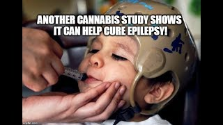 ANOTHER Cannabis Study Shows It Can Help Cure Epilepsy!