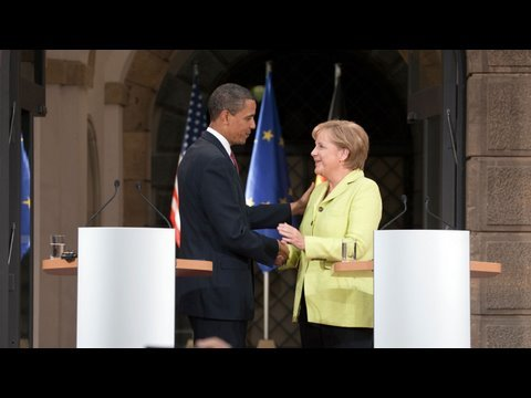 President Obama & Chancellor Merkel Face the Press