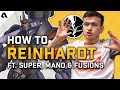 How To Reinhardt | Overwatch League Pro Hero Tips ft. Super, Mano & Fusions