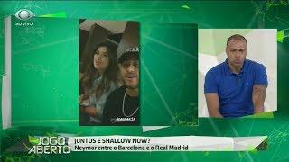 Denilson comenta aproximação de Neymar e Paula Fernandes