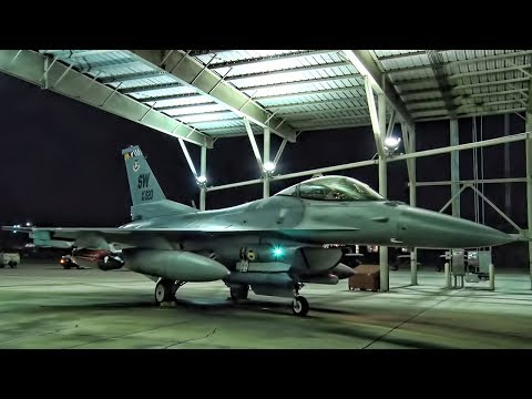 USAF F-16 Fighting Falcons Deploy • 77th Fighter Squadron