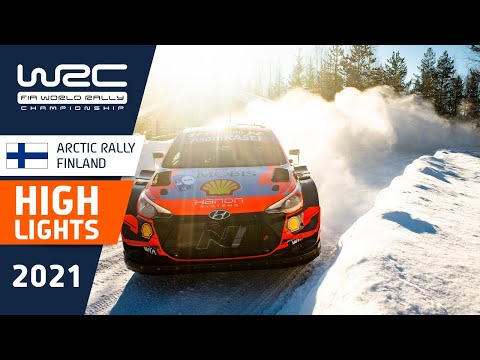 Event Highlights Clip - REVIEW - WRC Arctic Rally Finland 2021