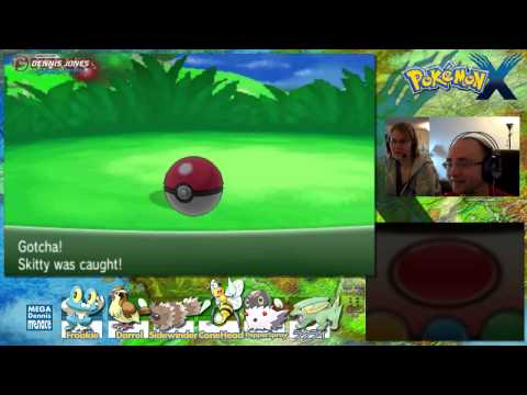 Pokemon X Walkthrough Exp Share and Route 4 Ep 7 Playthrough Lets Play