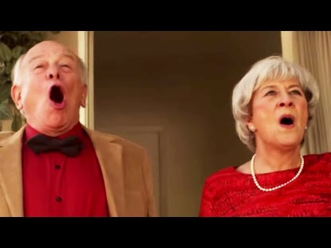 Real Grandparents Sing Frozen's Love Is An Open Door | Oh My Disney