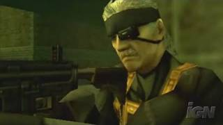 Metal Gear Solid: Portable Ops + Sony PSP Trailer - Trailer