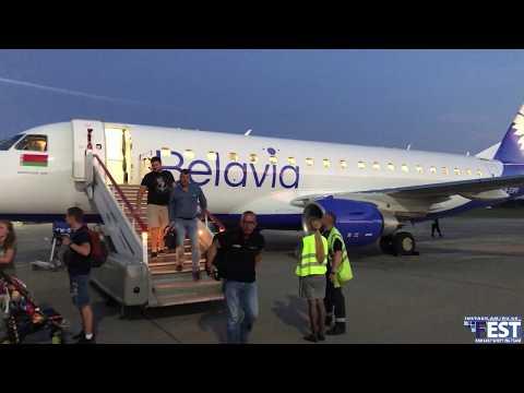 Перелет Калининград-Минск/ Belavia/Embraer 175