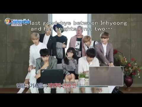 GOT7 reacting to JB kissing scene from Dream Knight