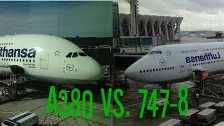 A380 vs 747-8i - Lufthansa Economy Class Flight Comparison!