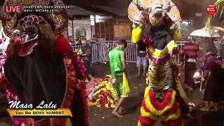 MASA LALU Cover Voc Bu Boss NSM007 - New SABDO MANGGOLO Live Songgoriti Malang 2019
