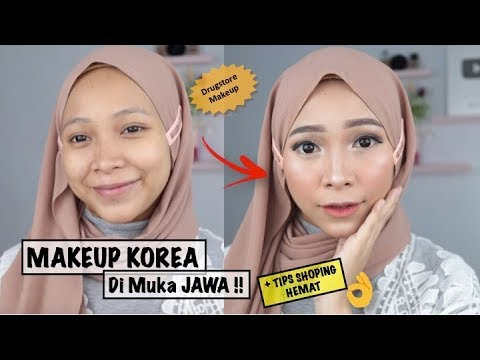 KOREAN MAKEUP LOOK DI MUKA JAWA + TIPS BELANJA ONLINE HEMAT thumbnail