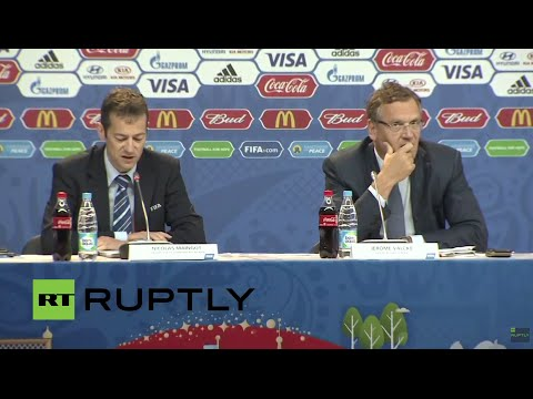 LIVE: FIFA 2018 World Cup organising committee briefs press on match schedule