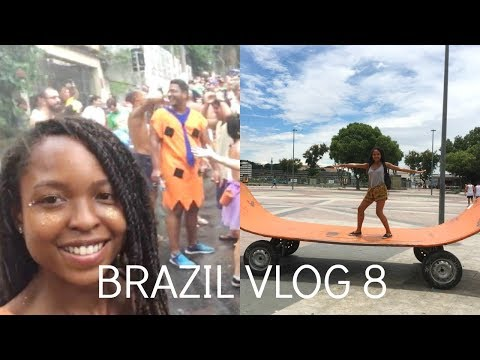 Brazil Travel Vlog 8 | IVHQ | The Best Bloco Ever! | Niteroi Contemporary Art Museum
